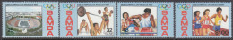 SAMOA, 1984 OLYMPIC GAMES 4 MNH - Samoa