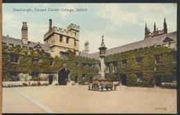 °°° 12222 - UK - QUADRANGLE , CORPUS CHRISTI COLLEGE , OXFORD °°° - Oxford