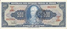 BRESIL 500 CRUZEIROS ND1967 UNC P 186 - Brazil