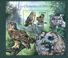 Comoro Is 2011 Birds Of Prey,Owls MS MUH CM11121b - Isole Comore (1975-...)