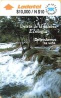 MEXICO - GPT, Río - Detras De La Palabra Ecología, 14MEXE + B, 10 N$, 9/92, Used As Scans - Mexico