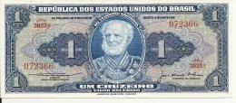 BRESIL 1 CRUZEIRO ND1954-58 UNC P 150 C - Brazil