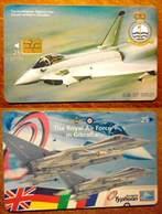 Gibraltar - GIB-C-07, Air Forces, Eurofighter Typhoon, 3000ex, 1999, Used - Gibraltar