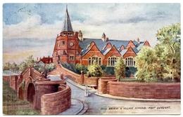 ADVERTISING : LEVER BROS - PORT SUNLIGHT - DELL BRIDGE & VILLAGE SCHOOLS - England