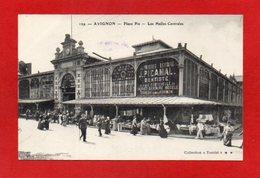 U44//  84 AVIGNON - Place Pie - Les Halles Centrales  // CPA  -  NON Ecrite - Avignon