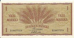 FINLANDE 1 MARKKA 1963 UNC P 98 - Finland