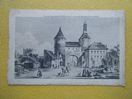AUTUN. L'Horloge Et La Place De Marchau. - Autun