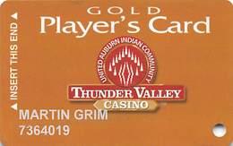 Thunder Valley Casino Lincoln CA - Slot Card Copyright 2006 - Casino Cards