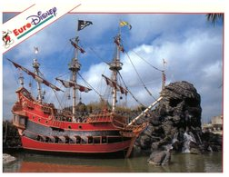 (325) France - Euro Disney - Pirate Ship At Adventurland - Disneyland