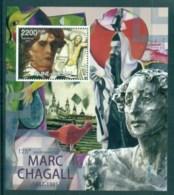 Guinea Bissau 2012 Art, Painting, Marc Chagall MS MUH GB12412b - Guinée-Bissau