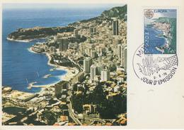 Carte  Maximum  1er  Jour   MONACO   EUROPA     1978 - 1978