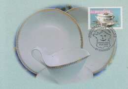 Carte  Maximum  1er  Jour   FRANCE   La   Porcelaine   LIMOGES    2003 - Maximumkarten