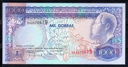 SANTO TOMÉ Y PRINCIPE. 1993   1000 DOBRAS. REI AMADOR  PICK Nº 63.  NUEVO SIN CIRCULAR  B1255 - Sao Tomé Et Principe