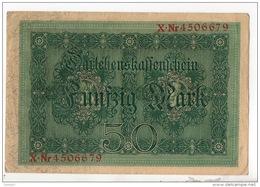 ALLEMAGNE . 50 MARK TYPE 1914 - Réf. N°10769 - - 50 Mark