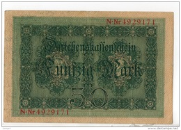 ALLEMAGNE . 50 MARK TYPE 1914 - Réf. N°10756 - - 50 Mark