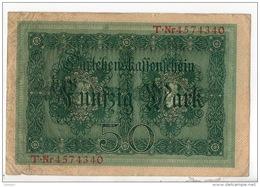 ALLEMAGNE . 50 MARK TYPE 1914 - Réf. N°10770 - - 50 Mark