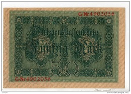 ALLEMAGNE . 50 MARK TYPE 1914 - Réf. N°10757 - - 50 Mark