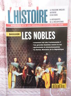 L HISTOIRE N°194 DE 1995 LES NOBLES  FASCISME ANGLAIS MESOPOTAMIE KGB - Histoire