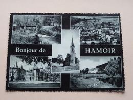 Bonjour De HAMOIR ( A. Toussaint Librairie ) Anno 1960 ( Zie/voir Foto's ) ! - Hamoir