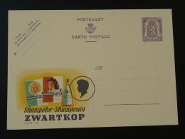 Publibel 822 Shampoing Tete-Noire Entier Postal Stationery Card Belgique - Stamped Stationery