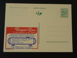 Publibel 2466 Gaz Royal Gas Entier Postal Stationery Card Belgique - Gaz