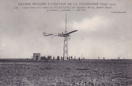 CPA - Aviation - Avion - Delagrange Sur Monoplan Blériot - 216 - Airmen, Fliers