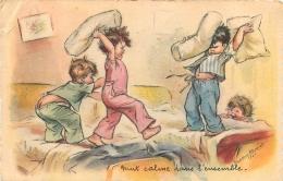 GERMAINE BOURET EDITION EAEC  NUIT CALME DANS L'ENSEMBLE - Bouret, Germaine