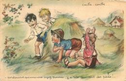 GERMAINE BOURET EDITION EAEC   PAS ETONNANT QUE VOUS NOUS AYEZ TROUVES Y A TOTO QUI SENT DES PIEDS - Bouret, Germaine