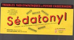 Lyon (69 Rhône) Buvard SEDATONYL (pharmacie) (PPP9175) - Chemist's