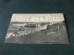 TORINO ESPOSIZIONE 1911 PANORAMA AEREO PONTI - Esposizioni