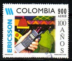 COLOMBIE. PA 952 De 1997 Oblitéré. Téléphone Portable. - Telecom