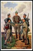 B6658 - Soldat Offizier - Feldpost 1. WK WW Armierungs Batl - Verlag Gerhard Stalling Oldenburg - Guerra 1914-18