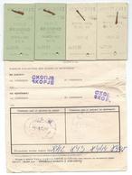 Transportation Ticket From Yugoslavia 1977,Railway,Train Ticket Skopje - Belgrade - Skopje - Europa