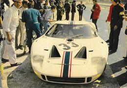 Voiture De Course Le Mans 1966? - Ford GT 40 N° 33 - Photo L'Auto-Journal - Le Mans