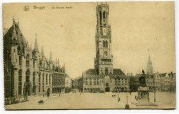 CPA - Carte Postale - Belgique - Brugge - De Groote Markt - 1918 ( SV5434 ) - Brugge