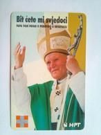 Pope John Paul II Visit  100 Unts - Kroatien