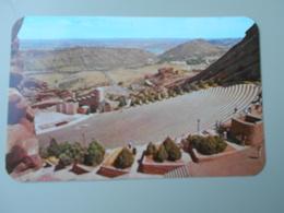 ETATS UNIS CO COLORADO PANORAMA OF RED ROCKS PARK FROM THE THEATER DENVER MOUNTAIN PARKS - Denver