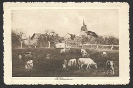 BETTINGEN BS Basel ST. CHRISCHONA Prägekarte 1915 - BS Basle-Town