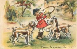 GERMAINE BOURET EDITION EAEC  J'AIME LE SON DU COR - Bouret, Germaine