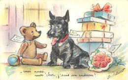 GERMAINE BOURET EDITION MD 1203   MOI AUSSI MON CHER J'SUIS UN CADEAU - Bouret, Germaine