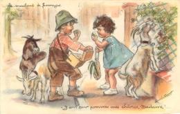 GERMAINE BOURET EDITION MD  725  LE  MARCHAND DE FROMAGES - Bouret, Germaine