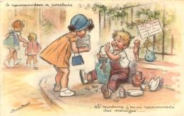 GERMAINE BOURET EDITION MD  725  LE  RACCOMMODEUR DE PORCELAINE - Bouret, Germaine