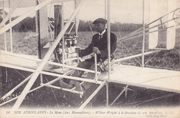 CPA - Aviation - Avion - Wilbur Wright Aviateur Américain - 14 - Flieger