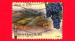 ITALIA - Usato - 2015 - Made In Italy: Vini DOCG - Dolcetto Di Diano D Alba (Piemonte) - Alba (CN) - 0,95 - 6. 1946-.. Repubblica