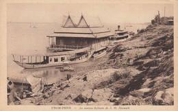Pnom-Penh - La Maison Flottante De S.M. Sisowath Par Le Photographe NADAL N°55 Cambodge Indochine Roi - Cambodia