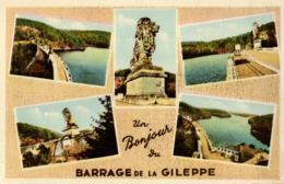 BELGIQUE - LIEGE - LIMBOURG - BETHANE - Un Bonjour Du Barrage De La Gileppe. - Gileppe (Barrage)