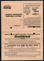 B6668 - Werbekarte Allgemeine Thüringische Landeszeitung Weimar - Deutschland