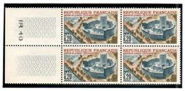 FRANCE 1963 YT N° 1402  MAISON DE LA RADIO-TELEVISION ** - Unused Stamps