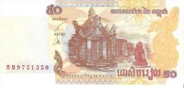 Cambodia - Pick 52 - 50 Riels 2002 - Unc - Cambogia