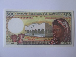 Comores/Comoros 500 Francs 1994 Banknote UNC - Comoros